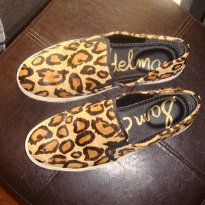 Sam Edelman Calf Hair Slip On Shoes 9M